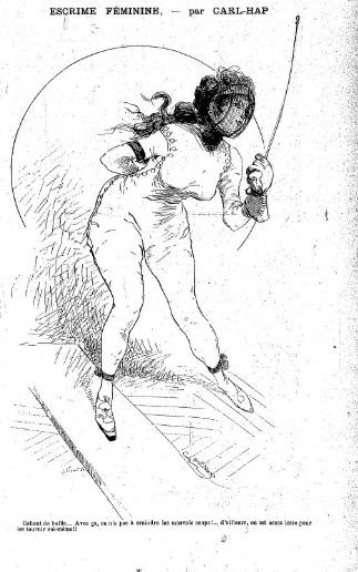 Carl-Hap La caricature 9 mars 1895 Gallica