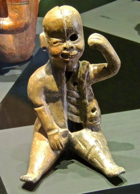 Culture olmeque bebe double Museo Nacional de la Muerte Aguascalientes