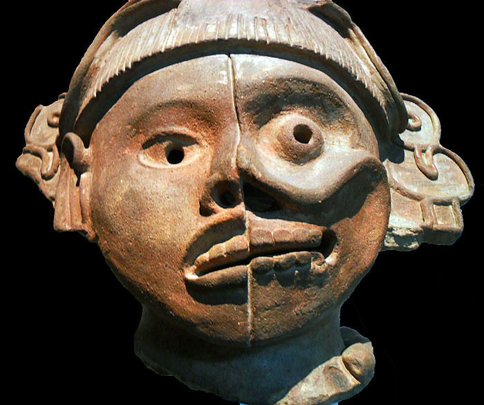 Culture zapotheque 800-900 ap JC Museo de Antropologia Chapultepec