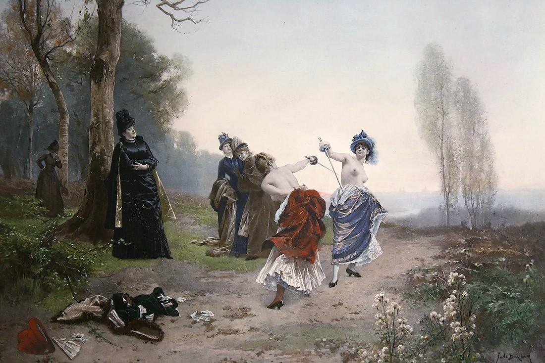 Emile-Antoine Bayard 1884 Une affaire d'honneur