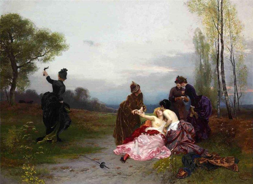 Emile-Antoine Bayard 1884bis La Reconciliation
