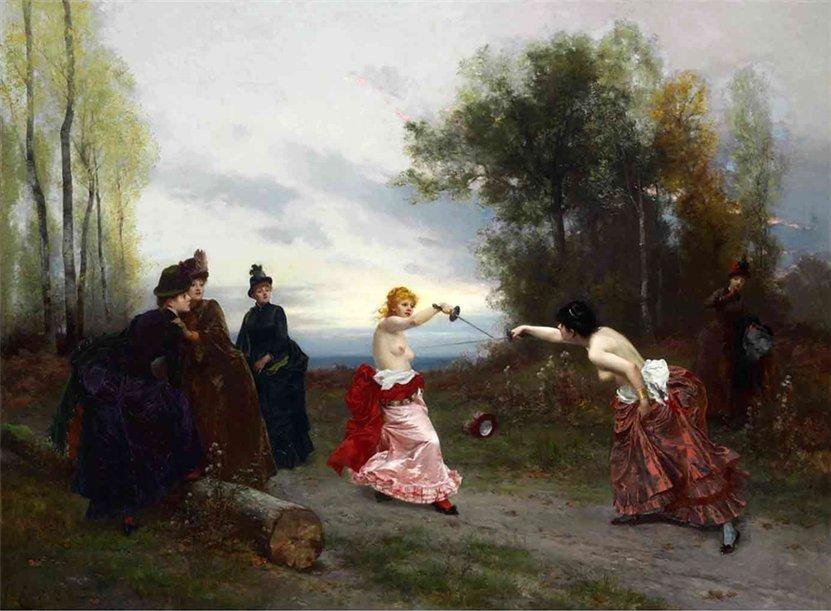 Emile-Antoine Bayard 1884bis Une affaire d'honneur