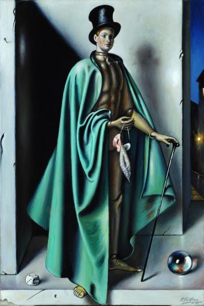 GREGORIO SCILTIAN 1960 ca Il mago