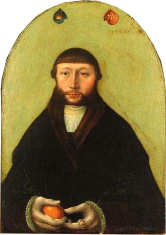 Hans Kemmer Le marchand Hans Sonnenschein 1534 St. Anne's Museum Quarter Lubeck