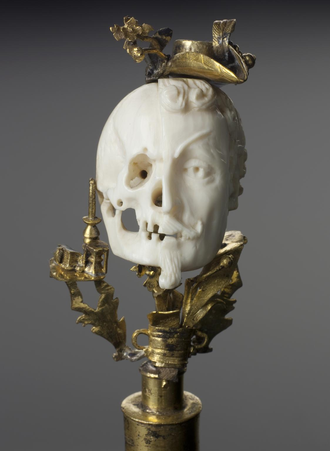 Ivory bust of General Wallenstein, Europe, after 1634 Science museum London detail