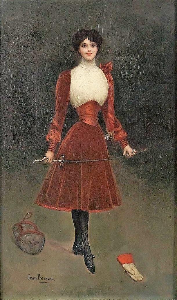 Jean Beraud 1895 ca F