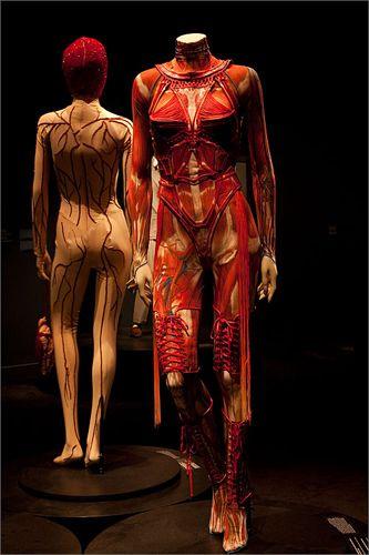 Jean Paul Gaultier Costume de scène de Mylene Farmer, tournee No 5, 2009