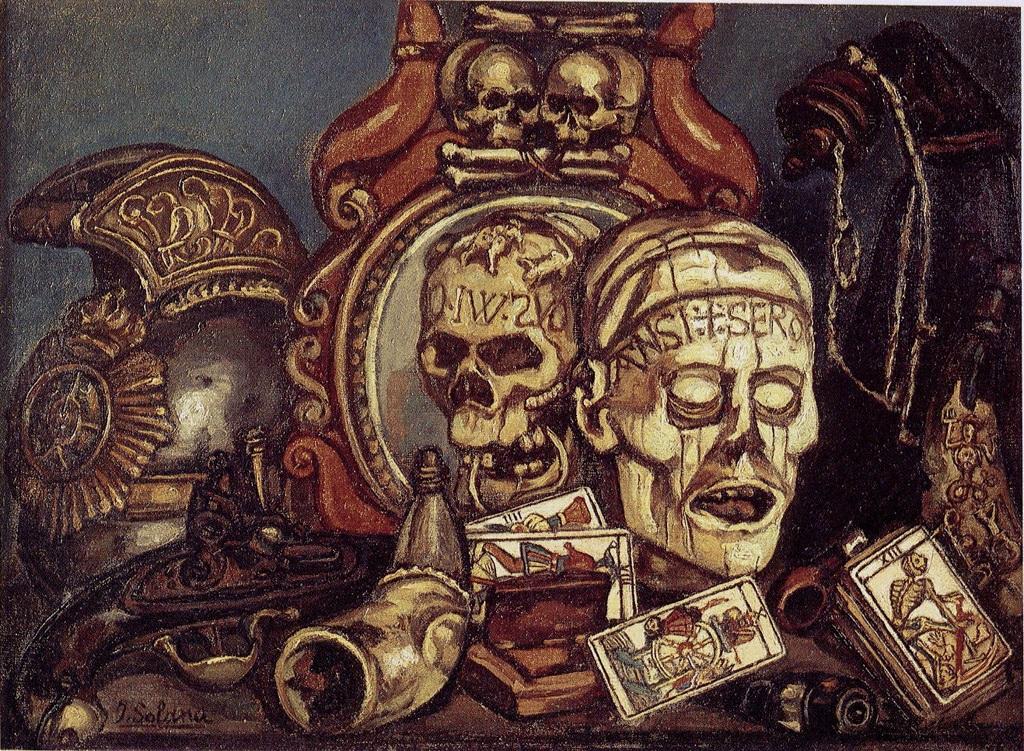 Jose Gutierrez Solana 1927 La Baraja de la Muerte