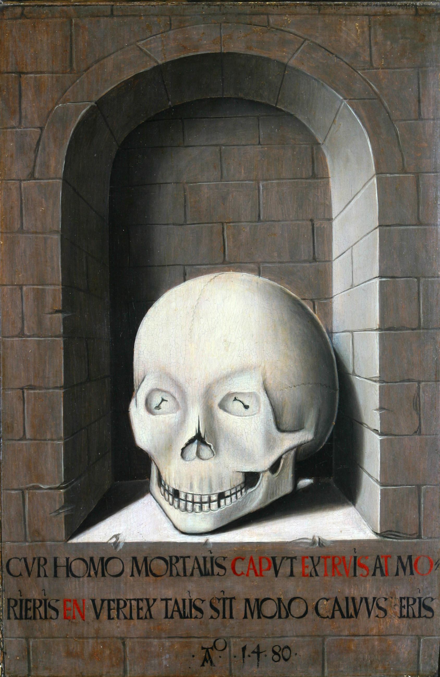 Maitre de la Legende de Sainte Ursule 1480 Mintmuseum verso