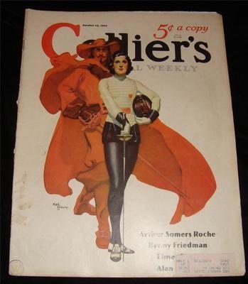 OCTOBER 1932 COLLIER'S MAGAZINE KARL GODWIN