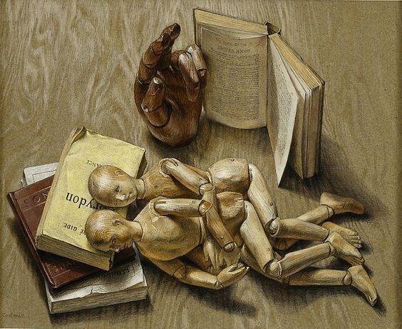 Paul Cadmus - Manikins, 1951,