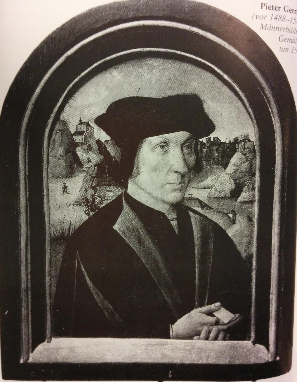 Portrait d'homme, vers 1520. Trier, Städlisches Museum Simenostift