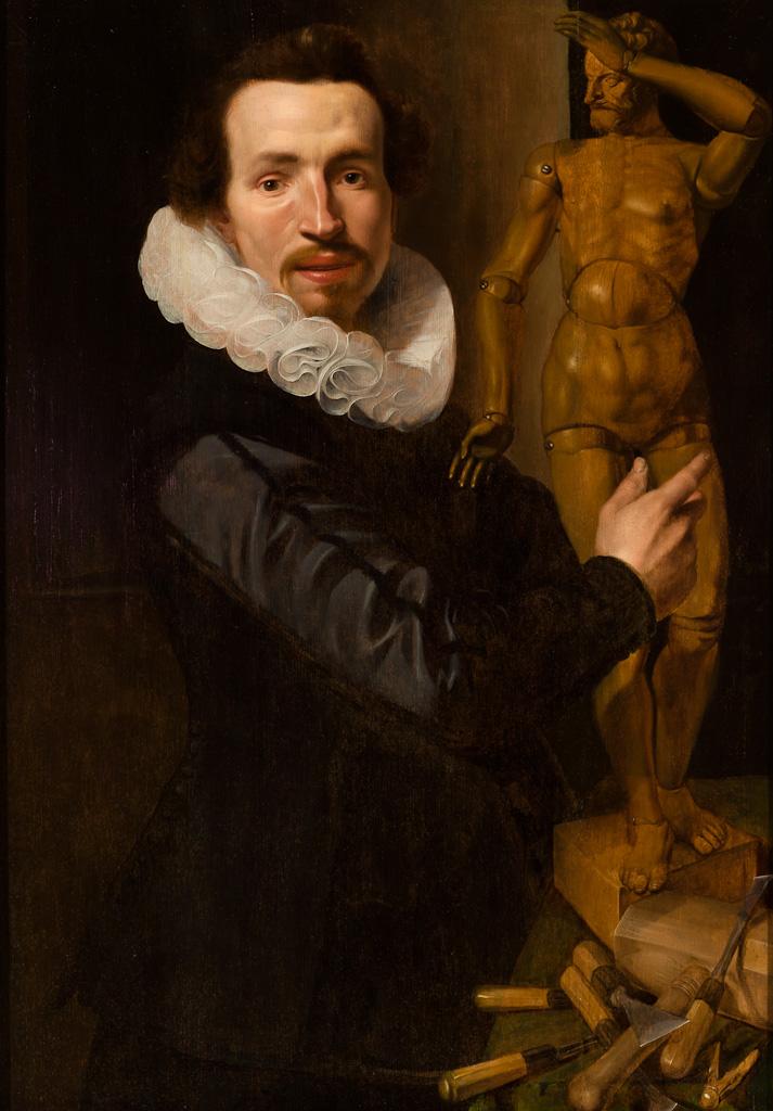 Portrait_of_a_Man_with_a_Lay_Figure_-Werner-Jacobsz.-van-den-Valckert-1624-Speed-Art-Museum