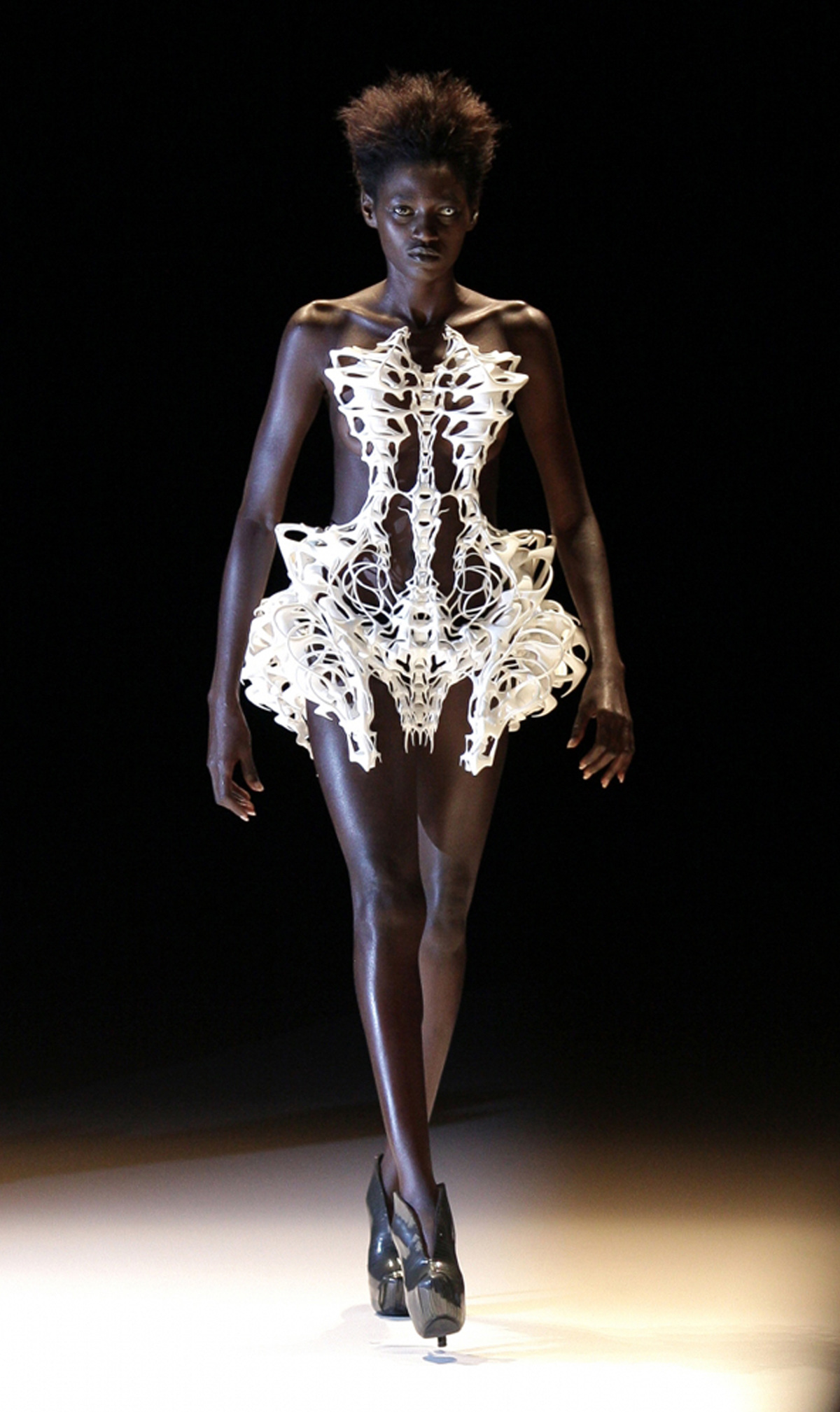 Skeleton Dress by Iris Van Herpen 2011