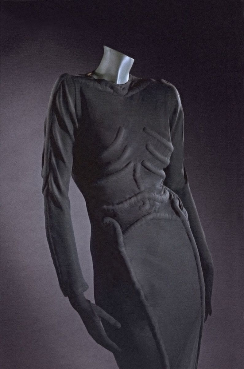 Skeleton dress Elsa Schiaparelli 1938