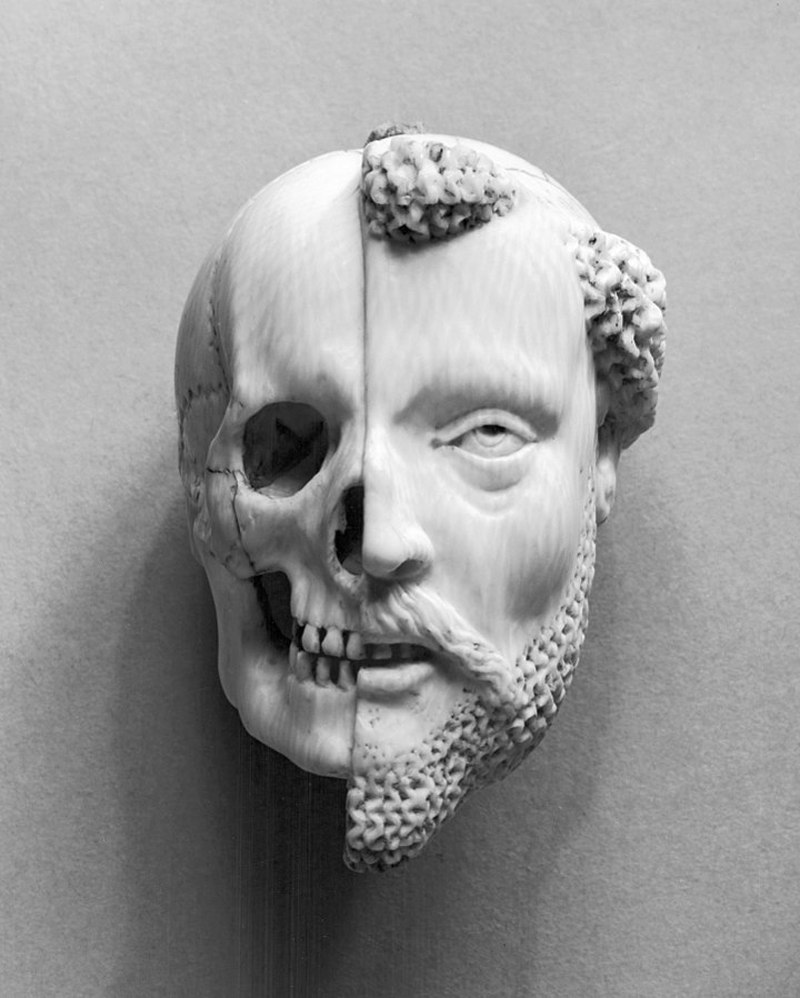 Tetedouble-French_-_Pendant_with_a_Monk_and_Death_-_Walters Art Museum