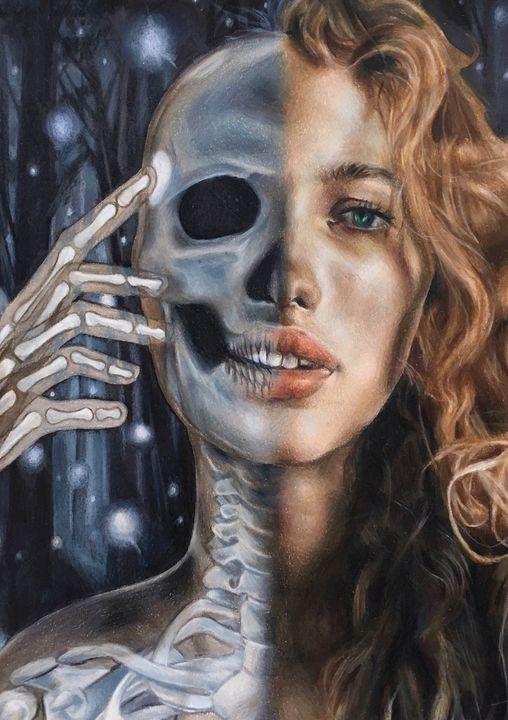 Vicky Xu Skull girl