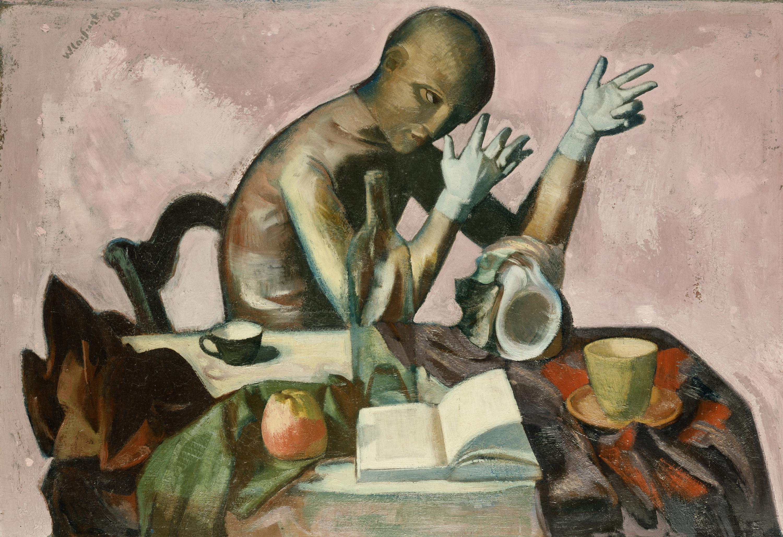 Wilhelm-Lachnit-1947-ca-Gliederpuppe-Neuen-Nationalgalerie-Berlin.
