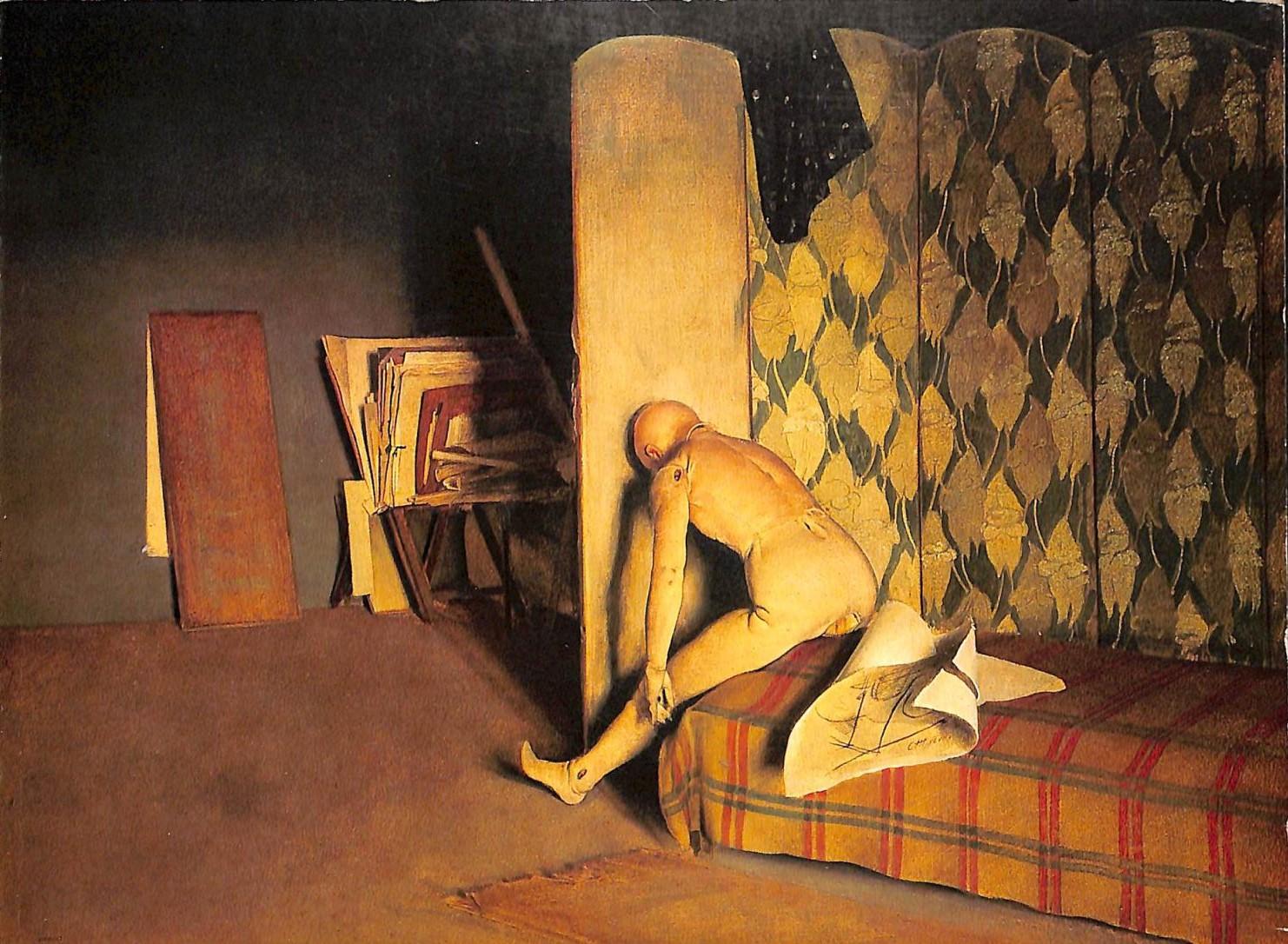 annigoni 1947 Interno dello studio collection Sandro Rubelli