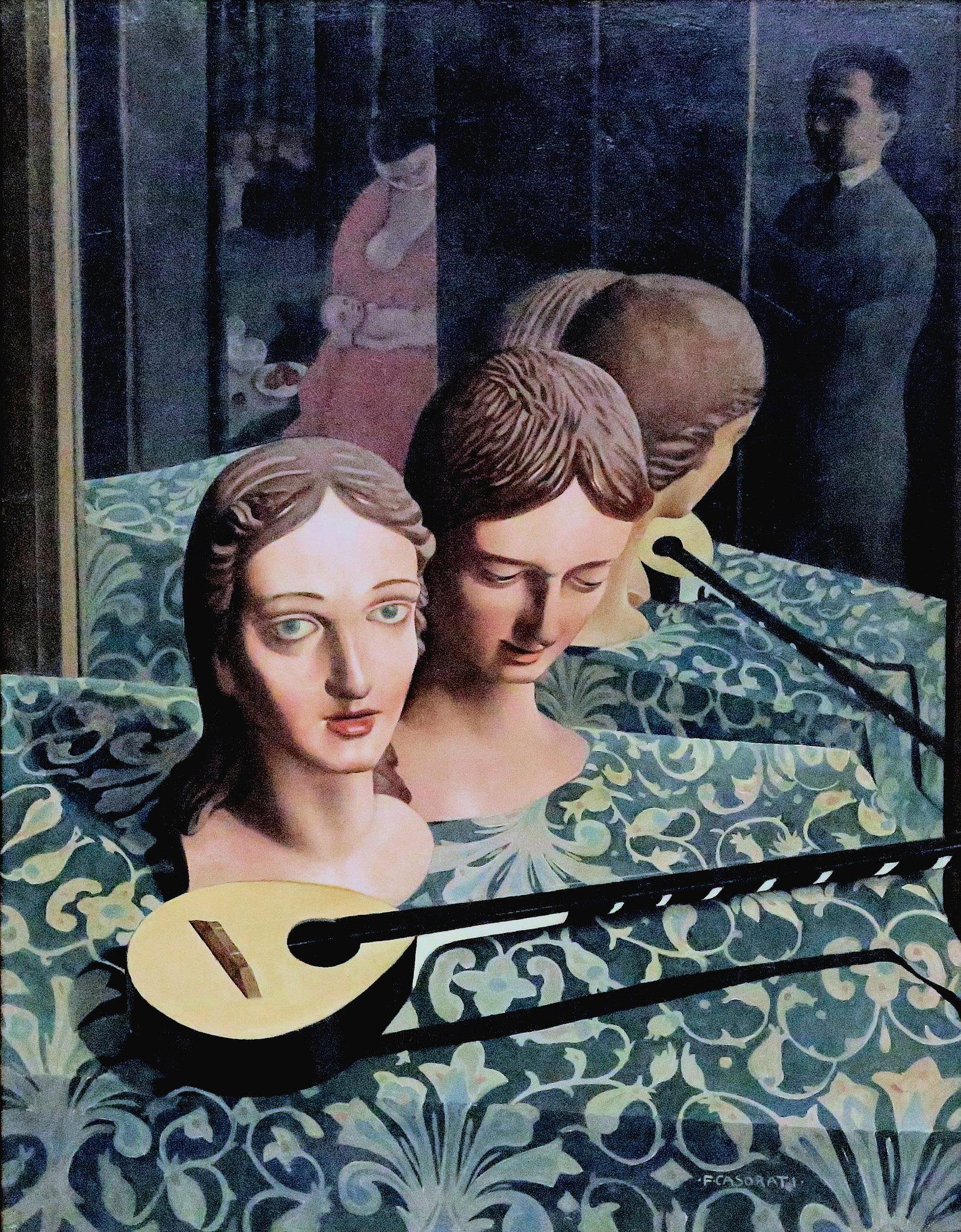 casorati felice 1924 mannequins Museo del Novecento Milan photo jean louis mazieres