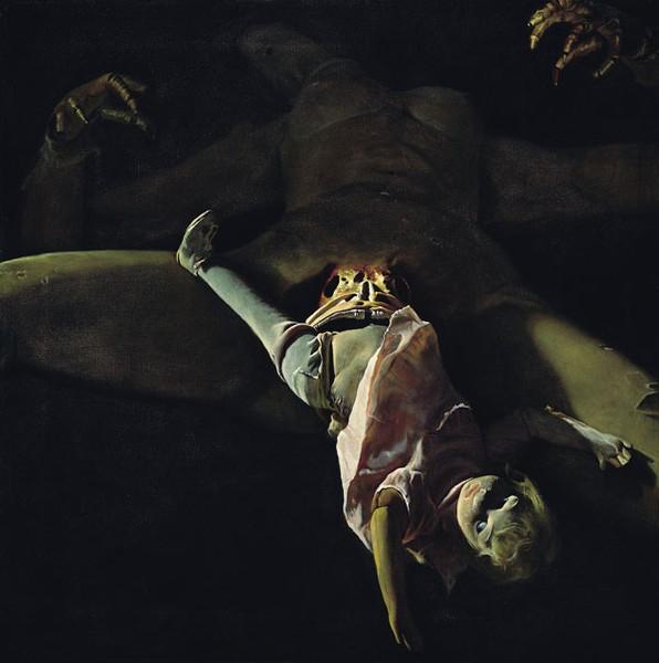 charles pfahl Sleepaway (etude pour Archetype)