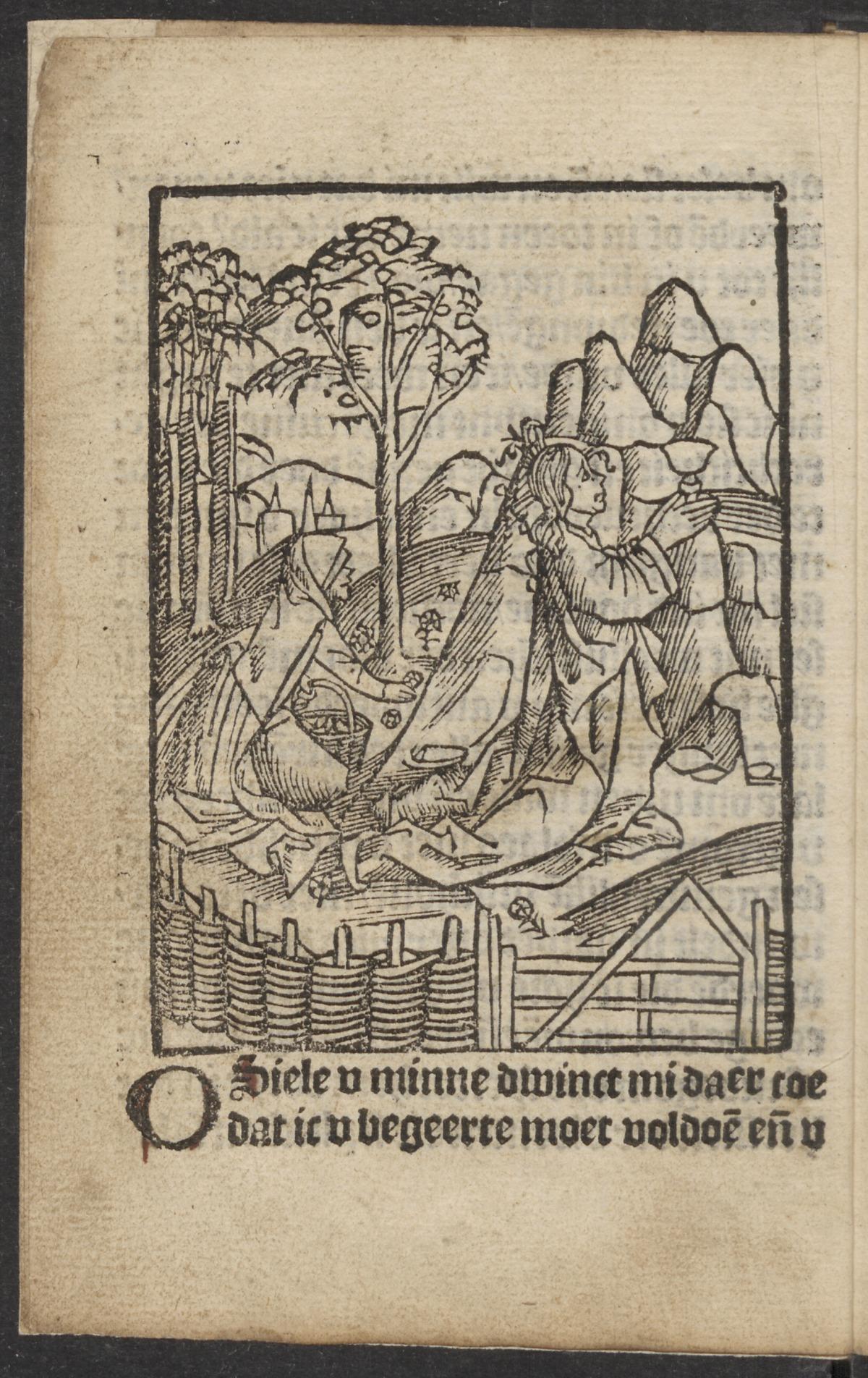 le Christ et l'ame dans le jardin de Gethsemani 1521. Utrecht University page 10
