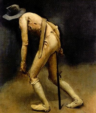 pietro-annigoni 1950 allegory-of-man-(mannequin)