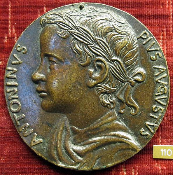 1461 Giovanni_boldu,_medaglia_di_caracalla, A