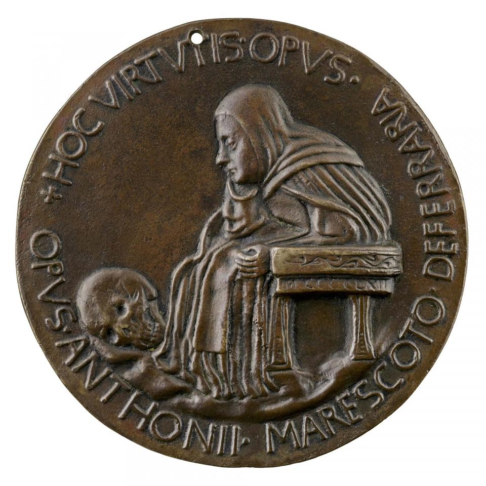 1462 antonio marescotti medal for Fra paolo albertini B Scher Collection