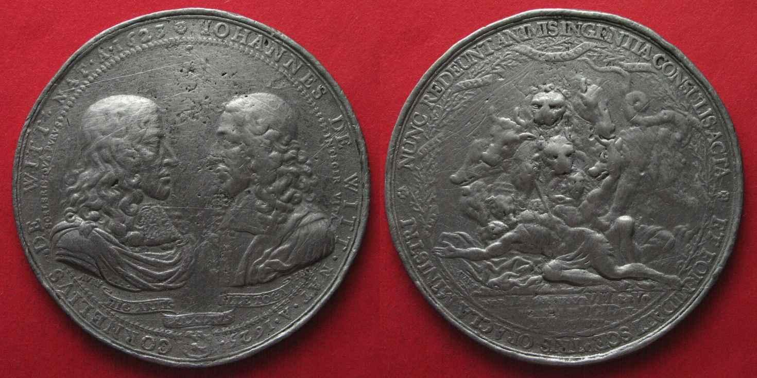 1672 Cornelius de Witt and Johann de Witt col; priv
