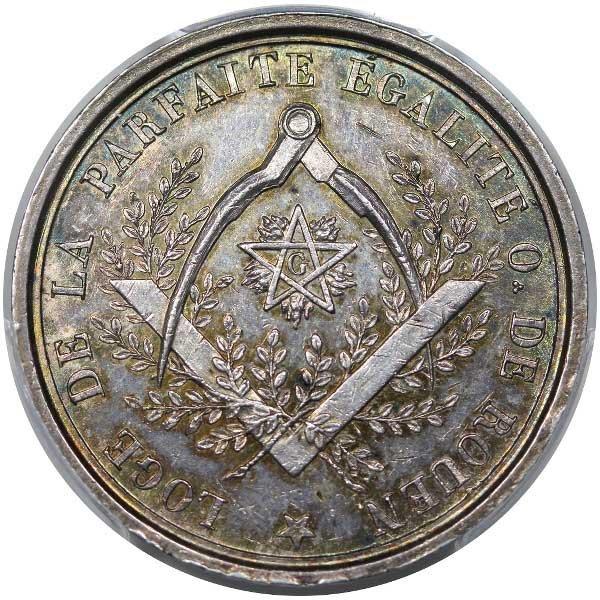 1795 Loge de la Parfaite egalite Rouen A