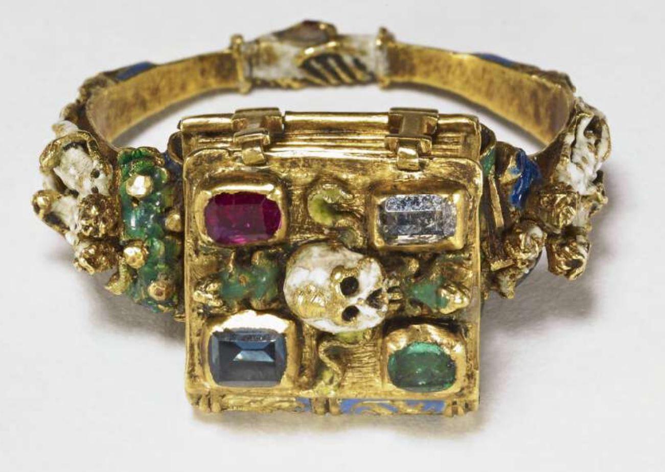 Anneau Memento Mori Flandres 1525-1575 British Museum A