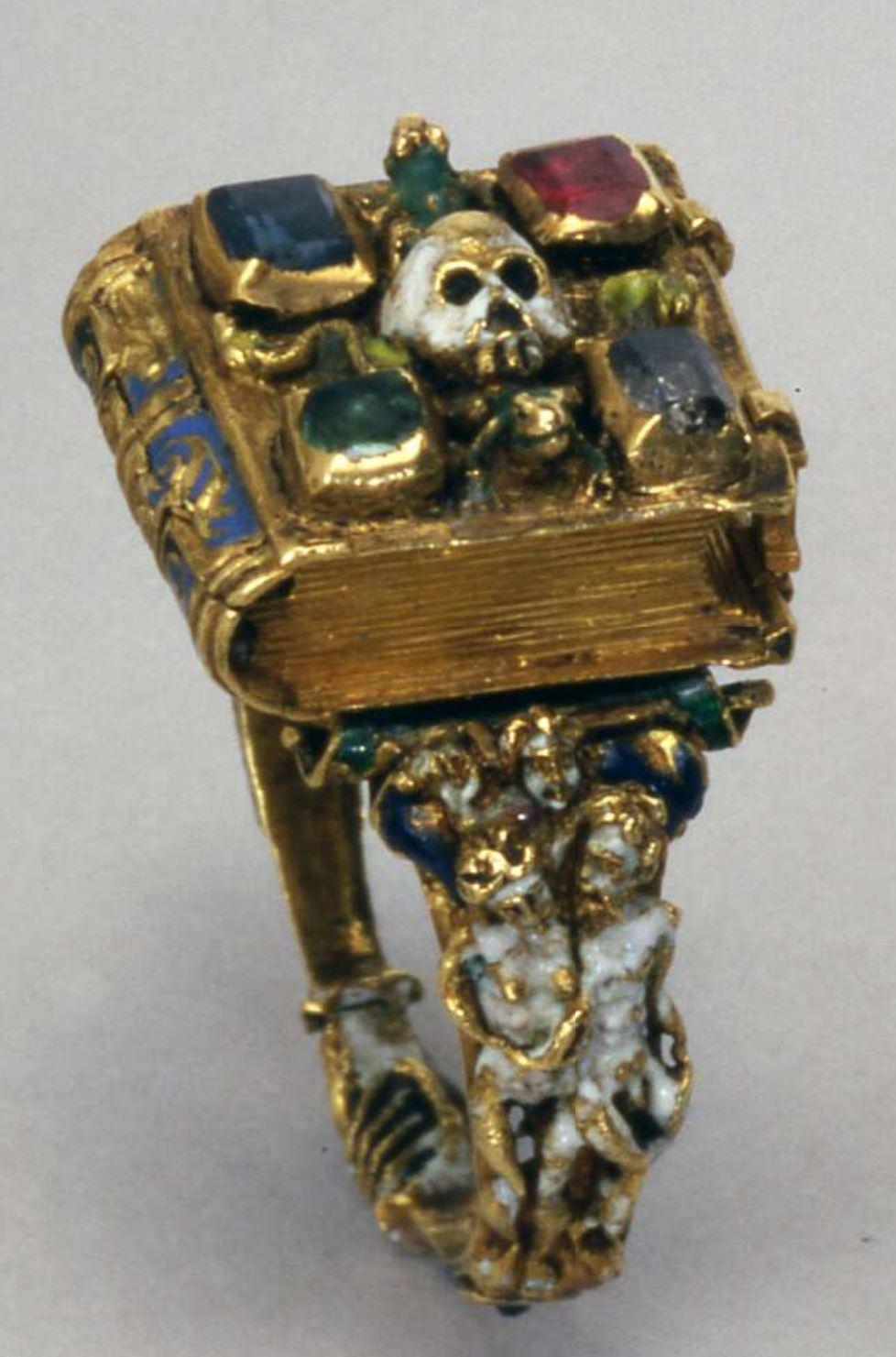 Anneau Memento Mori Flandres 1525-1575 British Museum C