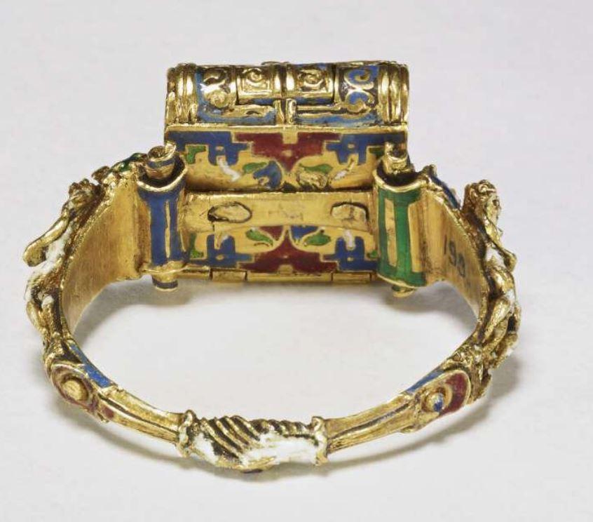 Anneau Memento Mori Flandres 1525-1575 British Museum E