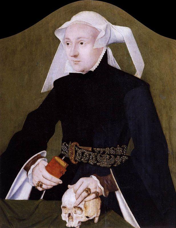 Barthel Bruyn l'ancien_Portrait_of_a_Noblewoman_-1530-35 Museo Correr Venise