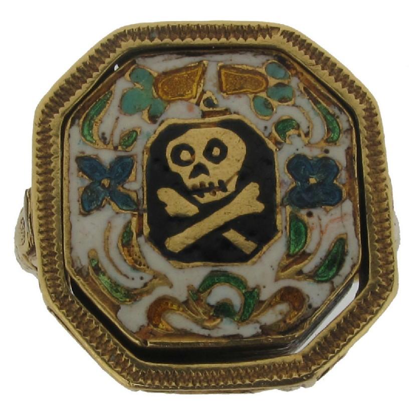 Charles I gold seal ring A