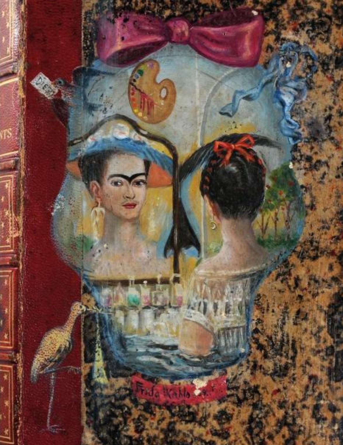 Frida Kahlo 1939 Couverure de Cazeaux Traite theorique et pratique de l'art des accouchements A