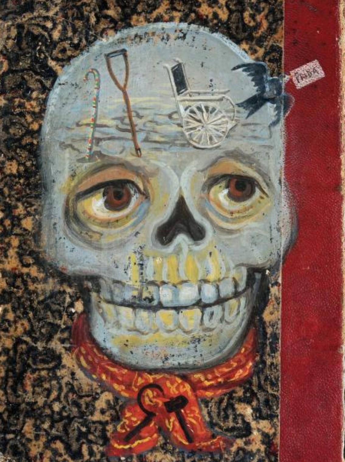 Frida Kahlo 1939 Couverure de Cazeaux Traite theorique et pratique de l'art des accouchements B