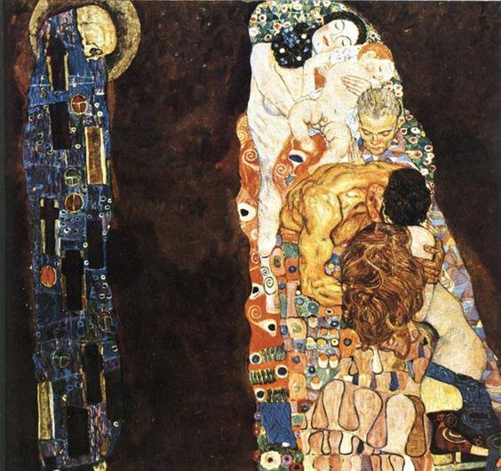 Gustav Klimt 1911 TodLeben premier etat