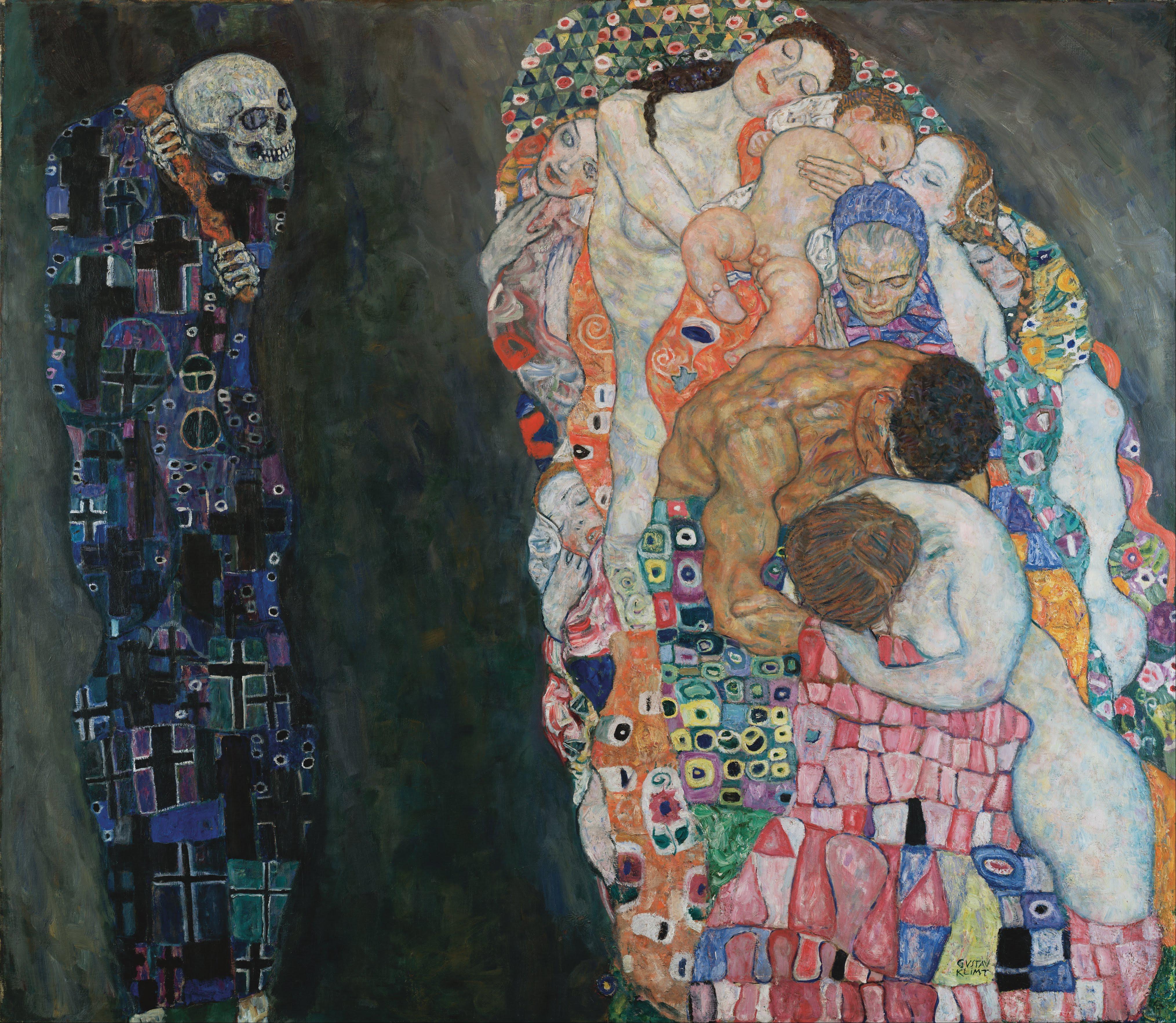 Gustav Klimt 1915 TodLeben Musee Leopold Vienne