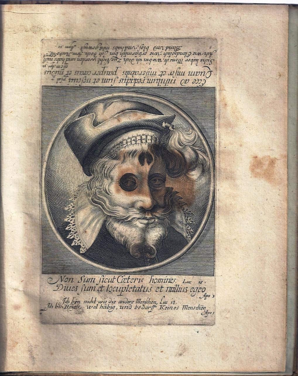 HB 1649 TODTEN-TANTZ, WIE DERSELBE IN DER LÖBLICHEN UND WEITBERÜHMTEN STATT BASEL ALS EIN SPIEGEL MENSCHLICHER BESCHAFFENHET A
