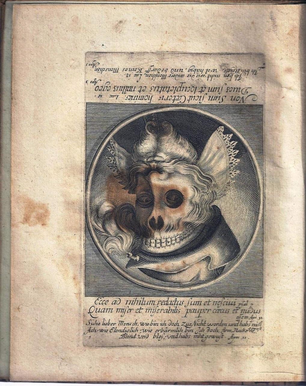 HB 1649 TODTEN-TANTZ, WIE DERSELBE IN DER LÖBLICHEN UND WEITBERÜHMTEN STATT BASEL ALS EIN SPIEGEL MENSCHLICHER BESCHAFFENHET B
