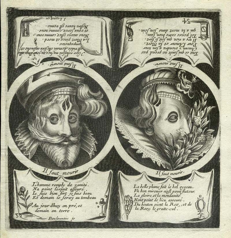 HB 1657-63 LAGNIET Jacques - pl.54 du « Premier livre des proverbes » A