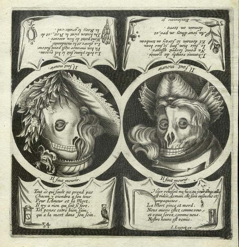 HB 1657-63 LAGNIET Jacques - pl.54 du « Premier livre des proverbes » B
