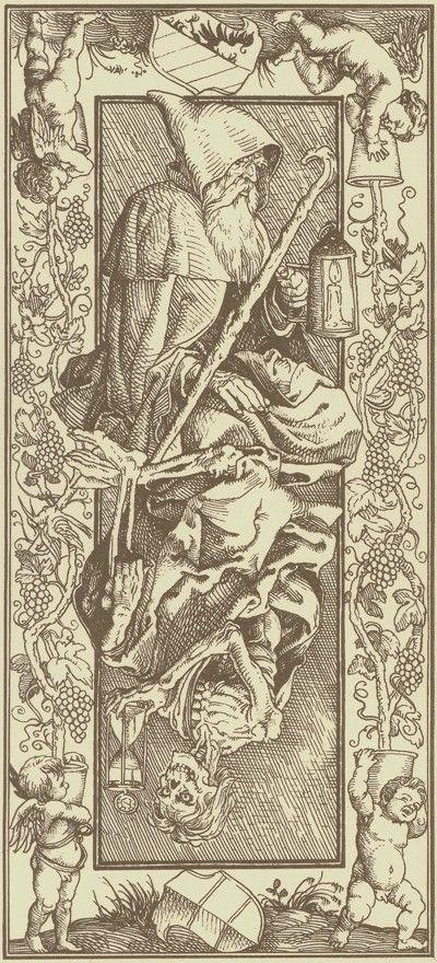 HB 2002 Giacinto Gaudenzi Tarot de Durer - la Mort A