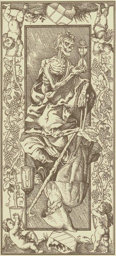 HB 2002 Giacinto Gaudenzi Tarot de Durer - la Mort B