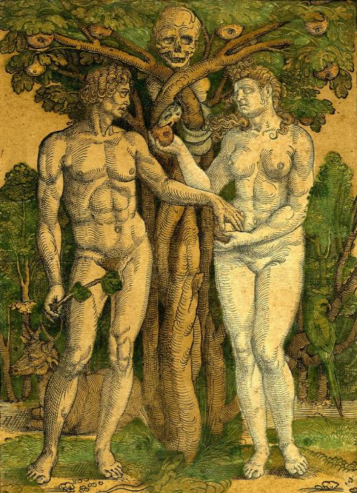 Hans Sebald Beham Adam and Eve 1525-27