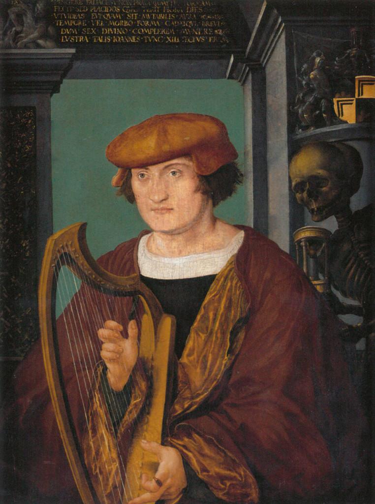 Holbein Portrait de Johannes Zimmermann (Xylotectus) 1520 Nuremberg, Germanisches Nationalmuseum