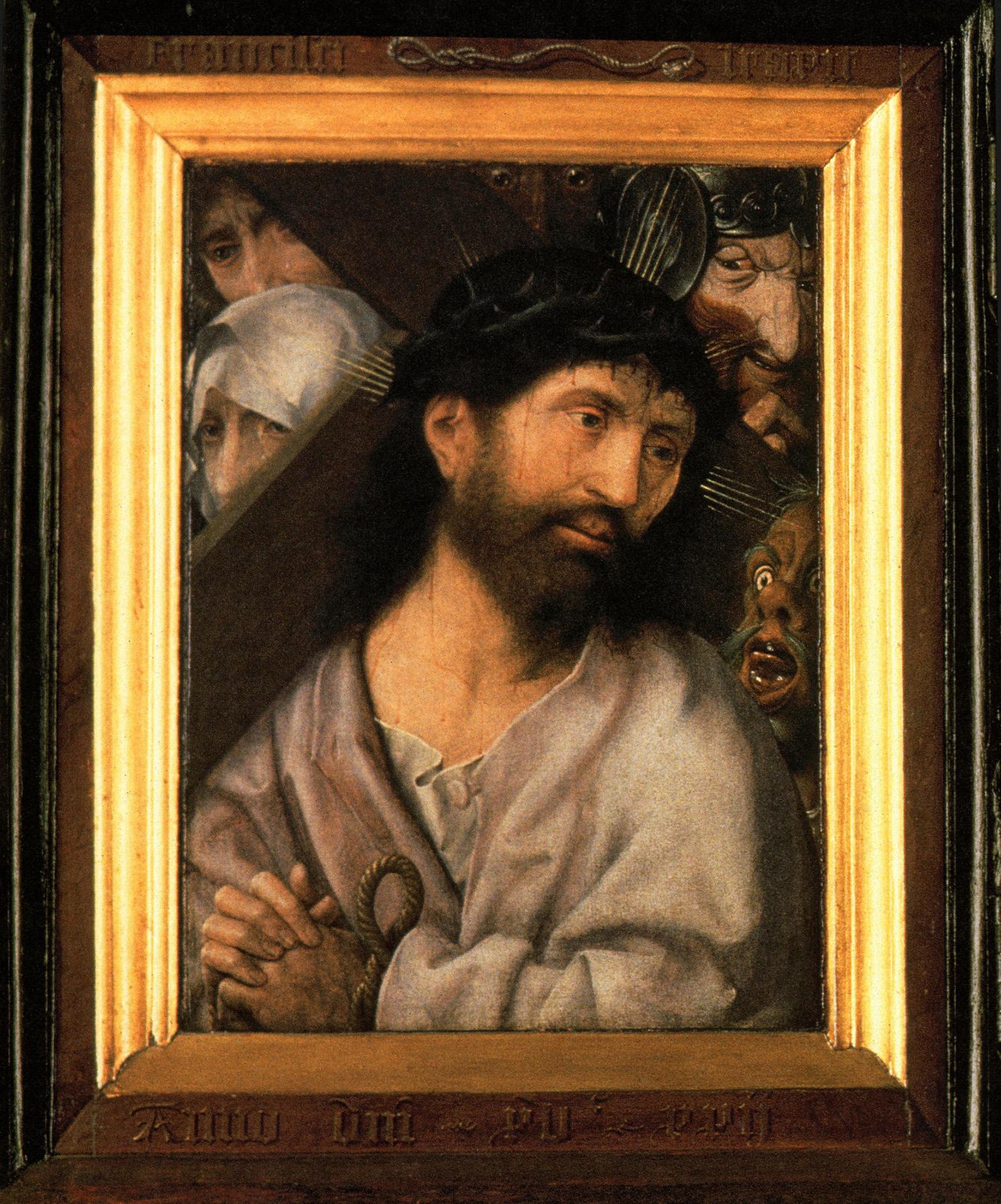 Jan Provoost 1522 Diptyque christ Sint Janshospitaal Bruges