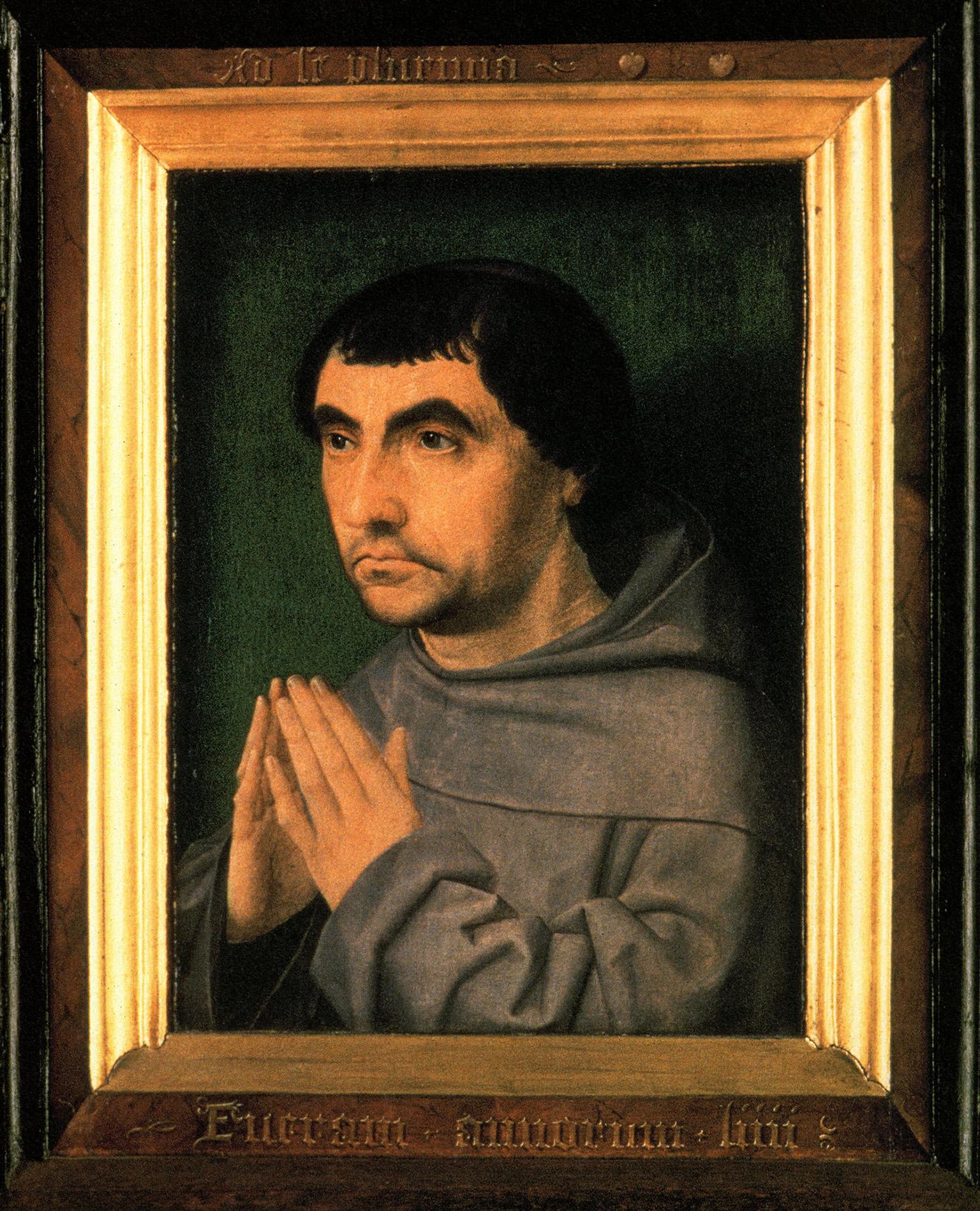 Jan Provoost 1522 Diptyque franciscain Sint Janshospitaal Bruges